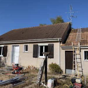 nettoyage façades et toiture maison la ferte saint aubin (6)